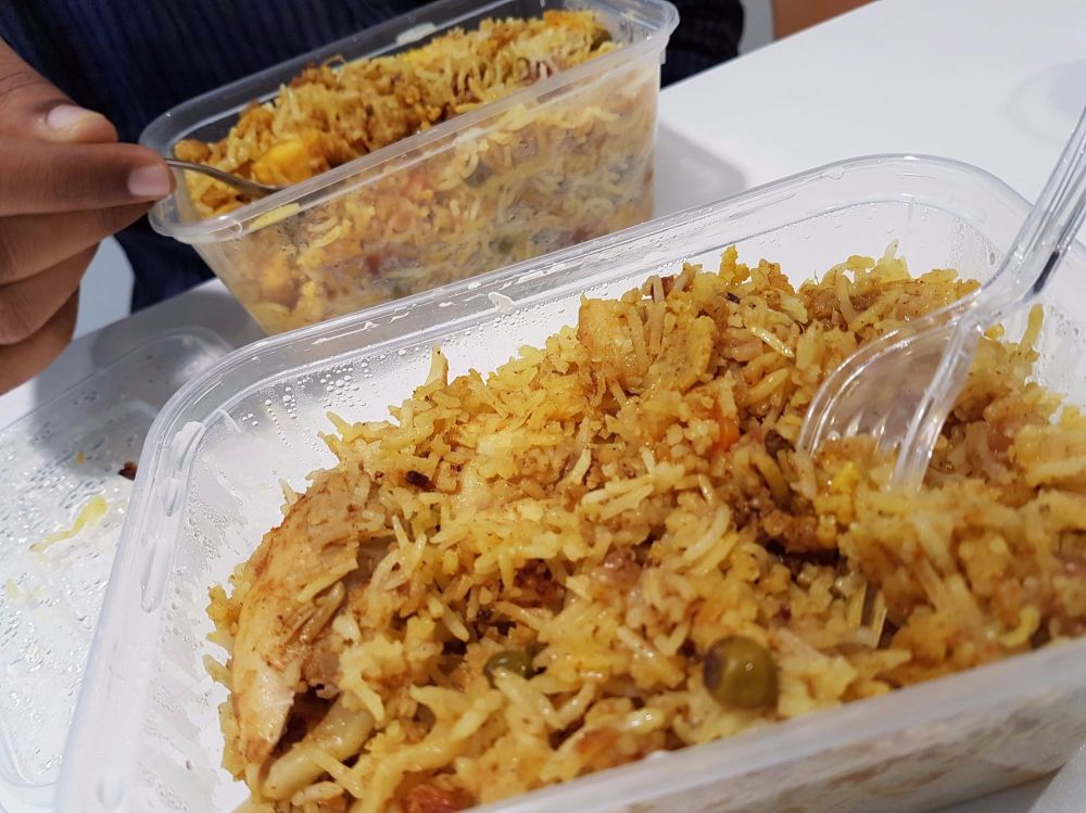 authentic home made indian chicken biryani and veg biryani in belfast
