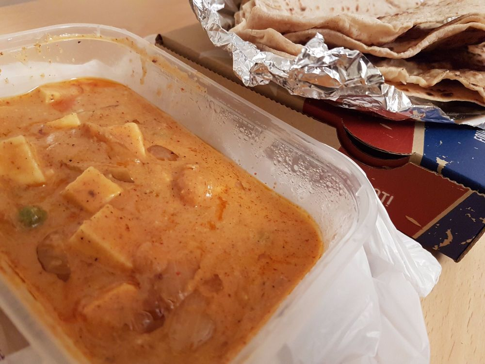 Authentic home made indian paneer butter masala in Belfast 1