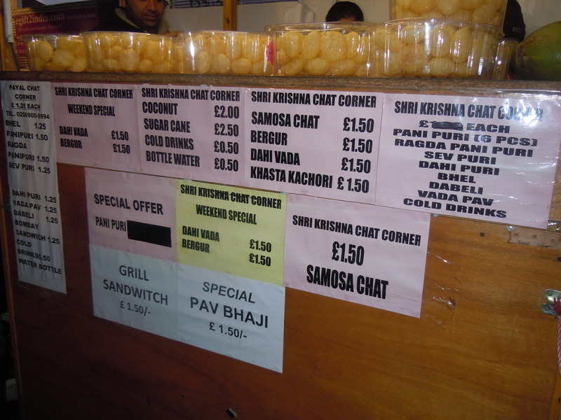 indian gujarathi chat snacks in london 1