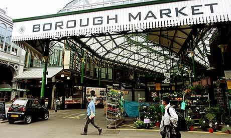 borough market London in trips2london