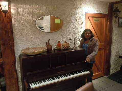 Piano in Folvark Polish Restaurant London Hounslow