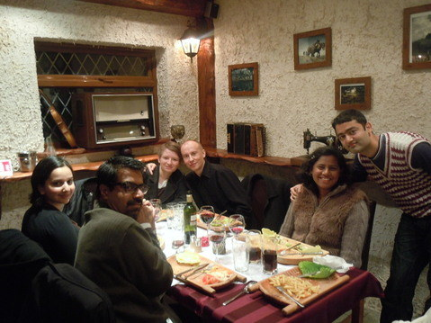 us at Folvark Polish Restaurant London Hounslow