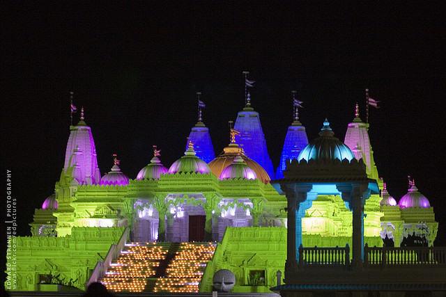 Diwali at BAPS SHRI SWAMINARAYAN MANDIR
