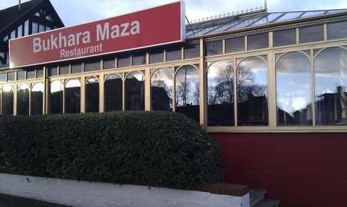 Bukhara Maza restaurant Osterley London from outside