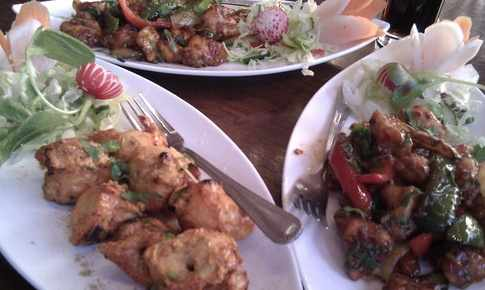 Bukhara Maza restaurant Osterley London Starters picture