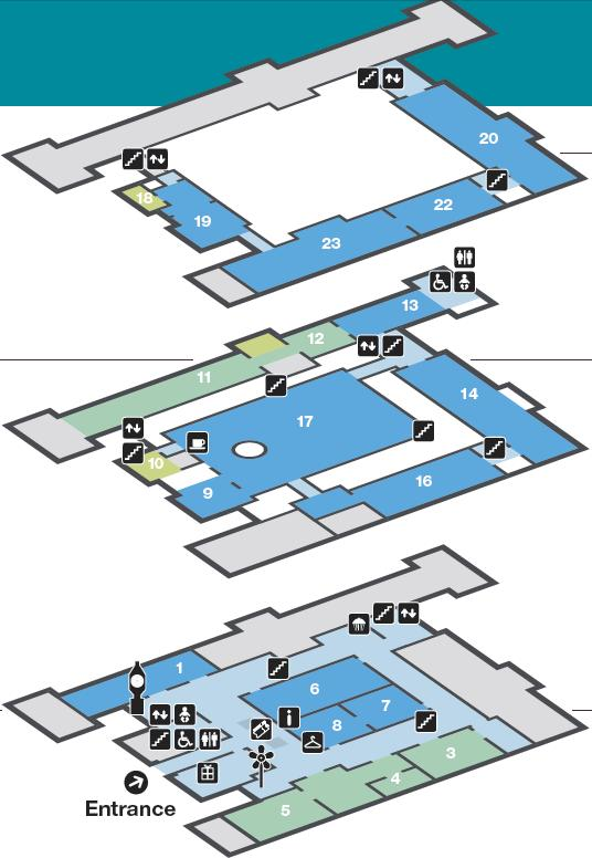 National Maritime Museum Floor plan