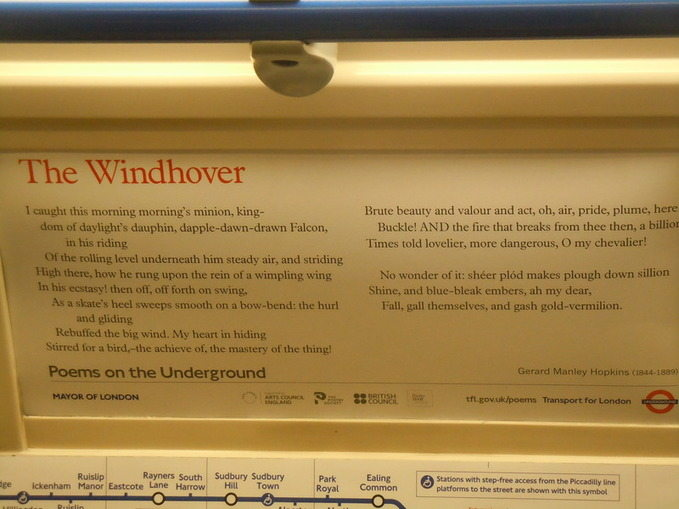 the-windhover-poem-on-london-underground