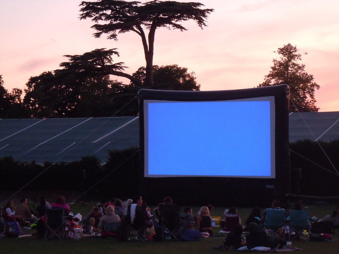 Outdoor movie at syon park 10