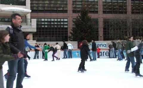 broadgate ice skating pic