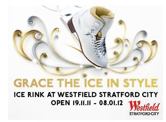 westfield Stratford ice skating pic