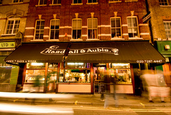 Randall and Aubin restaurant London