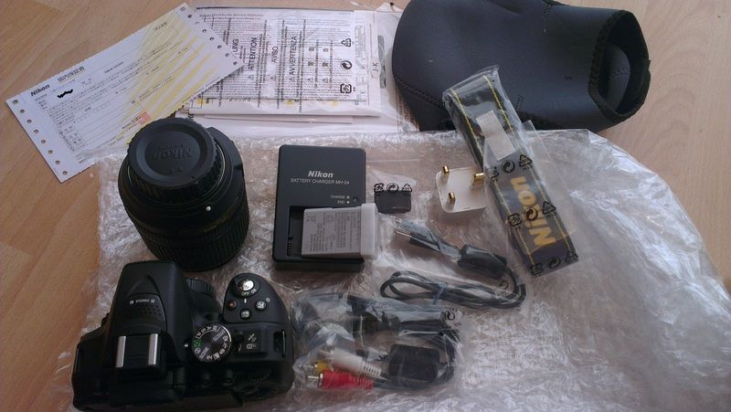 Nikon all contents with delivery