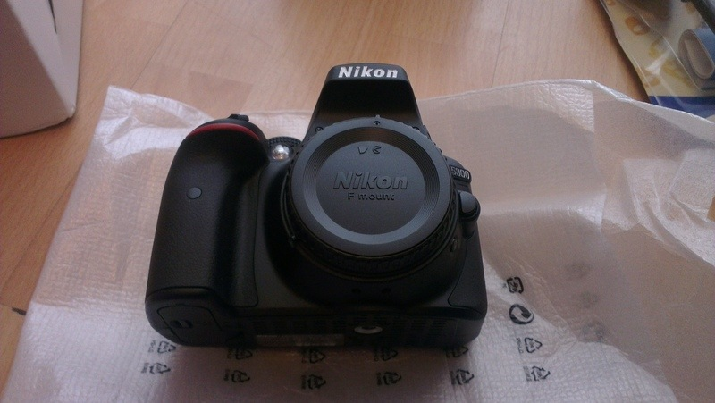 nikon camera with eglobal central