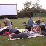 Outdoor movie at syon park 4