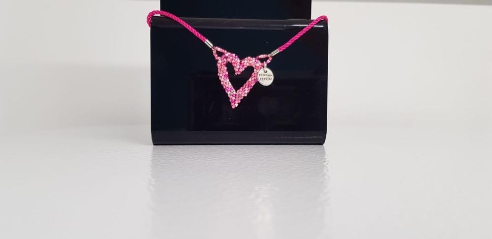 "Pink ""someone special"" sliding clasp bracelet"