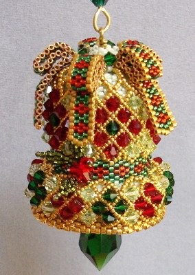 CRYSTAL BELL ORNAMENT