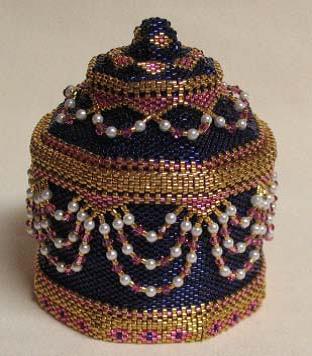 Bead-Jewelled Box