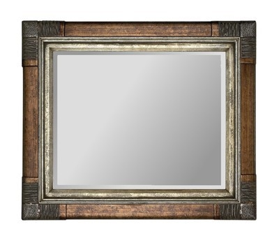 Juliette Silver Traditional Mirror 36X24