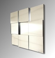 Facet Square Mirror
