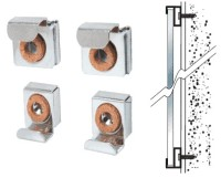 Nickel Plated Mount Mirror Clips