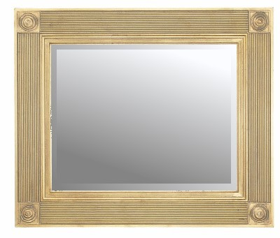 Roman Gold Traditional Mirror 36X24