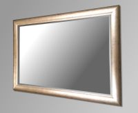 Champagne Gold Framed Mirror. 86x60cm