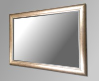 Champagne Gold Framed Mirror. 101x71cm
