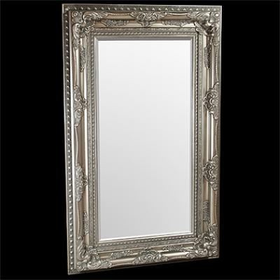 Elizabeth Silver Traditional Mirror
