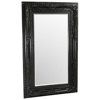 Elizabeth Black Traditional Mirror