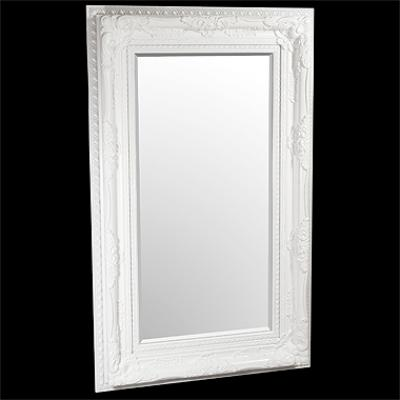 Elizabeth White Traditional Mirror