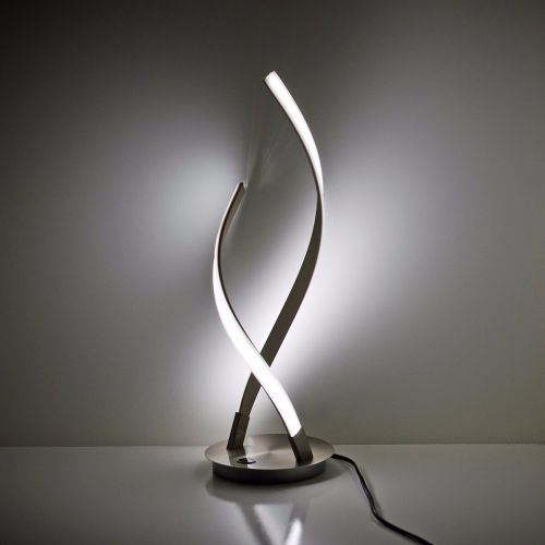 Double Twisted Led Table Lamp
