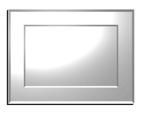 Montana Double Bevelled Mirror 102X76cm