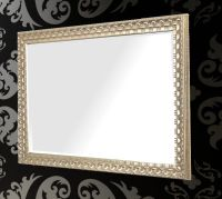 Julio Soft Silver Mirror.  87x61cm