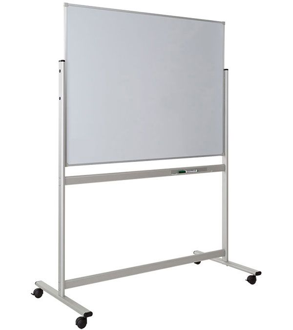 Fixed Magnetic Mobile Whiteboard 1200x900mm
