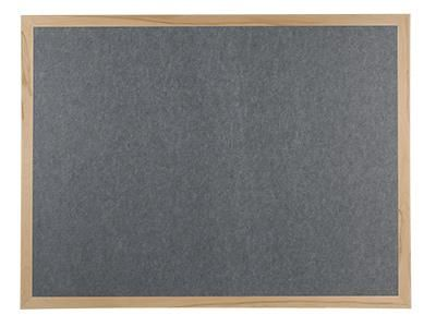 Polycolour Wooden Framed Noticeboard 900x600mm