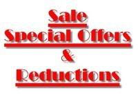 Special Offers & Reductions