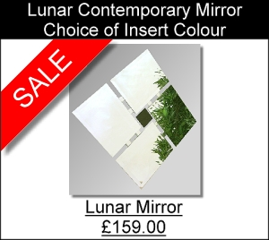 Lunar Contemporary Mirror
