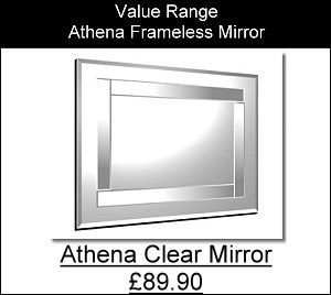 Athena Frameless Mirror