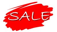 SALE - Special Offers & Reductions
