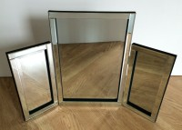 Linda Clear Triple Mirror