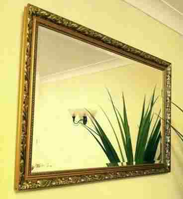 Dahlia Ornate 40X30 Framed Bevelled Mirror
