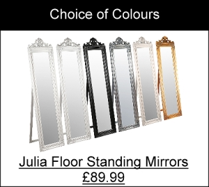 Julia Floor Standing Traditional Mirrors