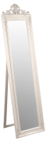 Julia Floor Standing Cream Mirror