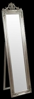 Julia Floor Standing Soft Silver Mirror