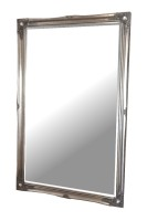 Silver Swept Large Bevelled Mirror 168x106cm