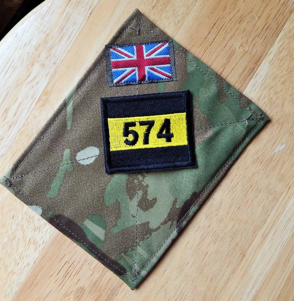Caterham School CCF Patch