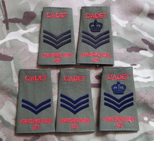 Yorkshire (N&W) ACF Rank Slides