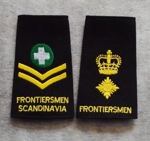 Legion of Frontiersmen Rank Slides