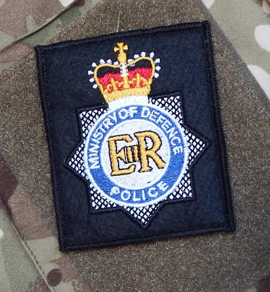 MOD Police Badge