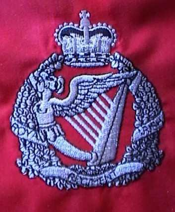 Royal Irish Cap Badge